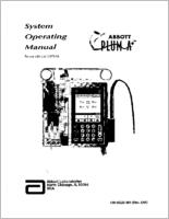 Abbott Plum A+ Infusion Pump  Service Manual