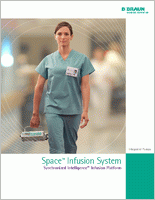B Braun Perfusor Space Infusion Pump System 8713030U brochure