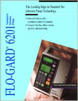 Baxter Flo-Gard 6201 Infusion Pump 6201 brochure