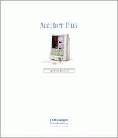 Datascope Accutorr Plus  Service Manual