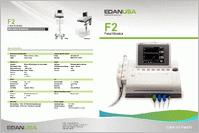 Edan F2 Fetal Monitor F2-DECG brochure