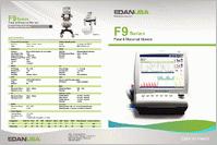 Edan F9 Express Fetal Monitor F9-EXPRESS brochure