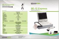 Edan SE-12 Express EKG Machine SE-12E brochure
