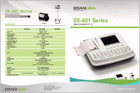 Edan SE-601C ECG Machine SE-601C brochure