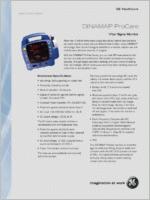 GE Dinamap ProCare 400  brochure