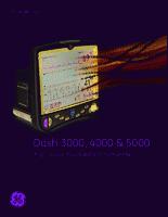 GE Dash 3000  brochure