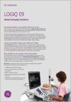 GE Logiq E9  brochure