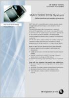 GE MAC 5000 EKG  brochure