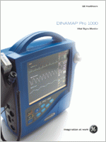 GE Dinamap Pro 1000  brochure