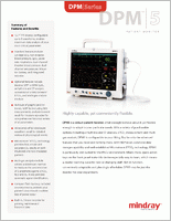 Mindray DPM5 Patient Monitor  brochure