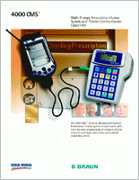 Moog Curlin 4000 CMS Ambulatory Infusion Pump 4000CMS brochure