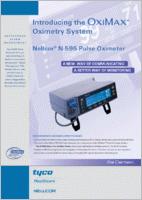 Nellcor OxiMax N-595 Tabletop Pulse Oximeter N-595 brochure