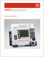 Physio Control Lifepak 12  Operations Manual