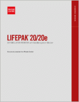 Physio Control Lifepak 20  brochure