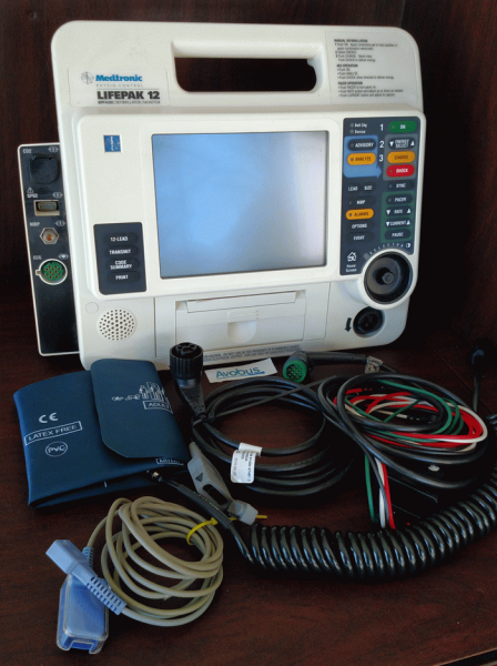 Physio Control Lifepak 12