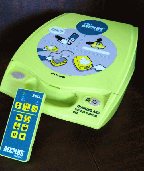 Zoll AED Plus Training Unit with Remote