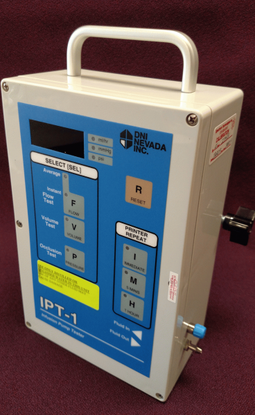 DNI Nevada IPT-1 Infusion Pump Tester - Calibrated