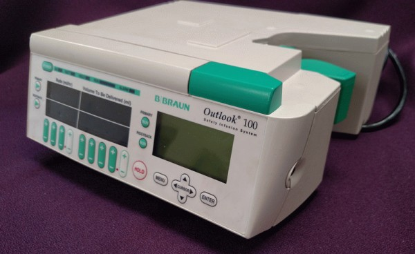 B Braun Outlook 100 Infusion Pump