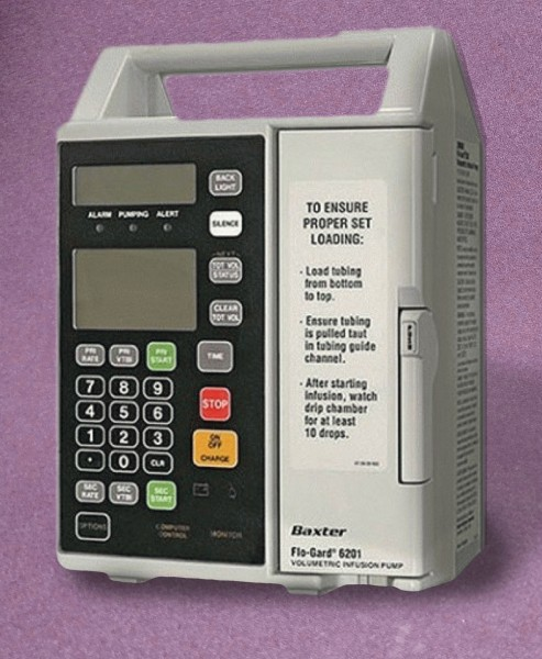 Baxter Flo-Gard 6201 Infusion Pump