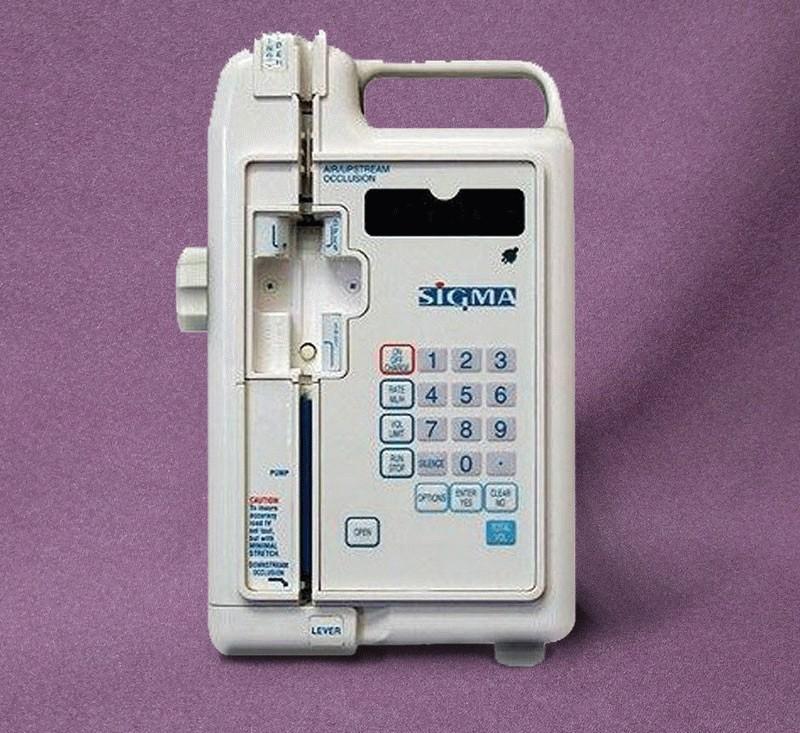 Sigma 8000 Infusion Pump - Avobus Medical Equipment