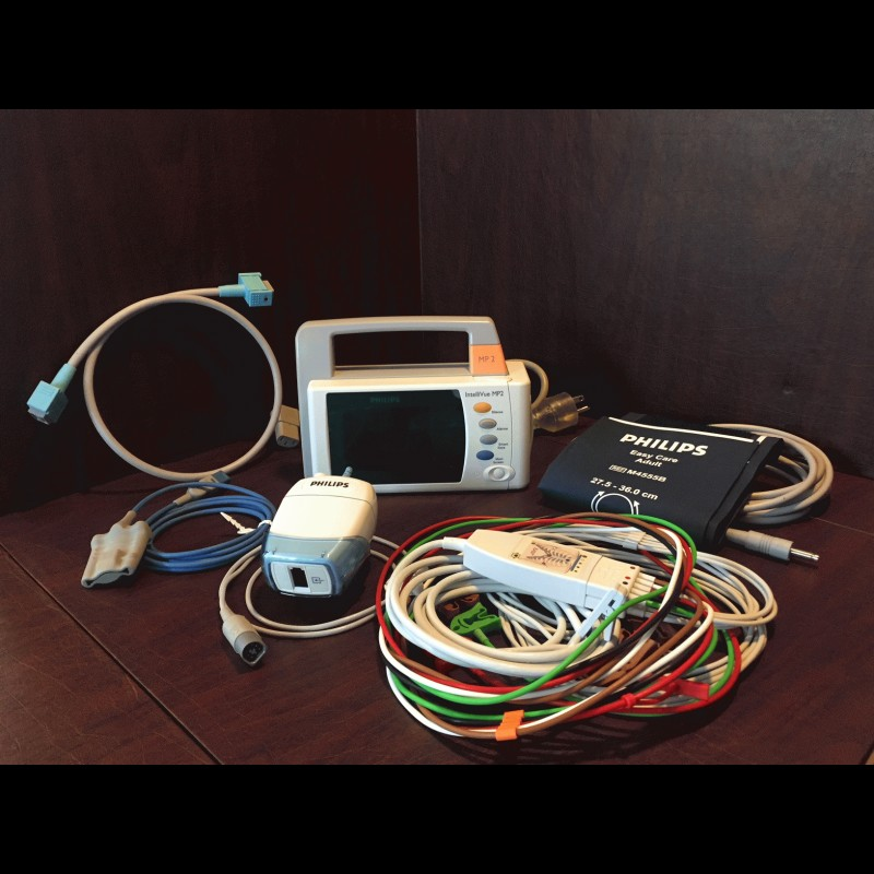 Philips Intellivue MP2 Portable Patient Monitor - Avobus Medical