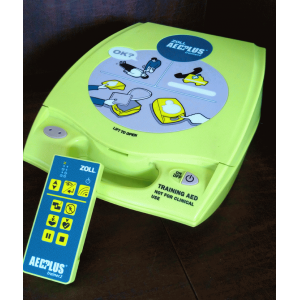 AED Plus Training Unit with Remote Refurbished
