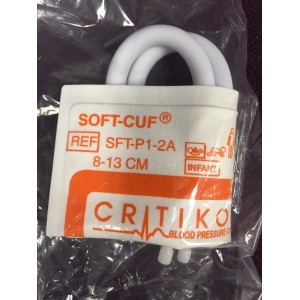 Critikon Soft-Cuf SFT-P1-2A Blood Pressure Infant Cuff 8-13 cm. New